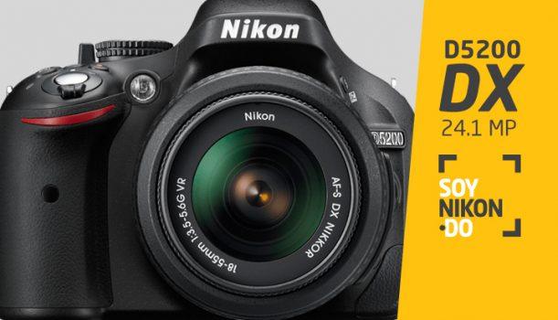 Nikon D5200 | RD$19,900