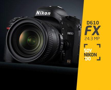 Nikon D610 FX | RD$59,900