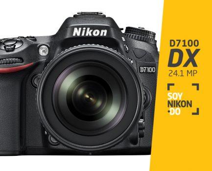 Nikon D7100 | RD$32,500
